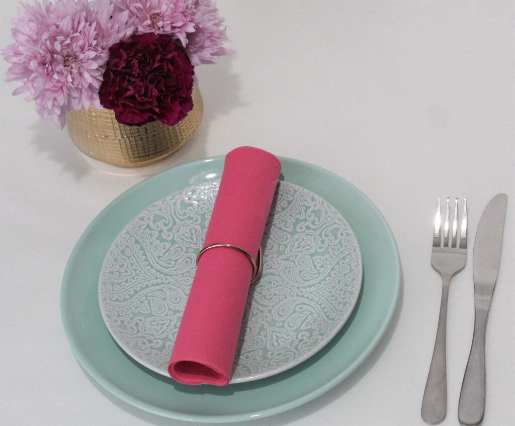 Pink-airlaid-napking