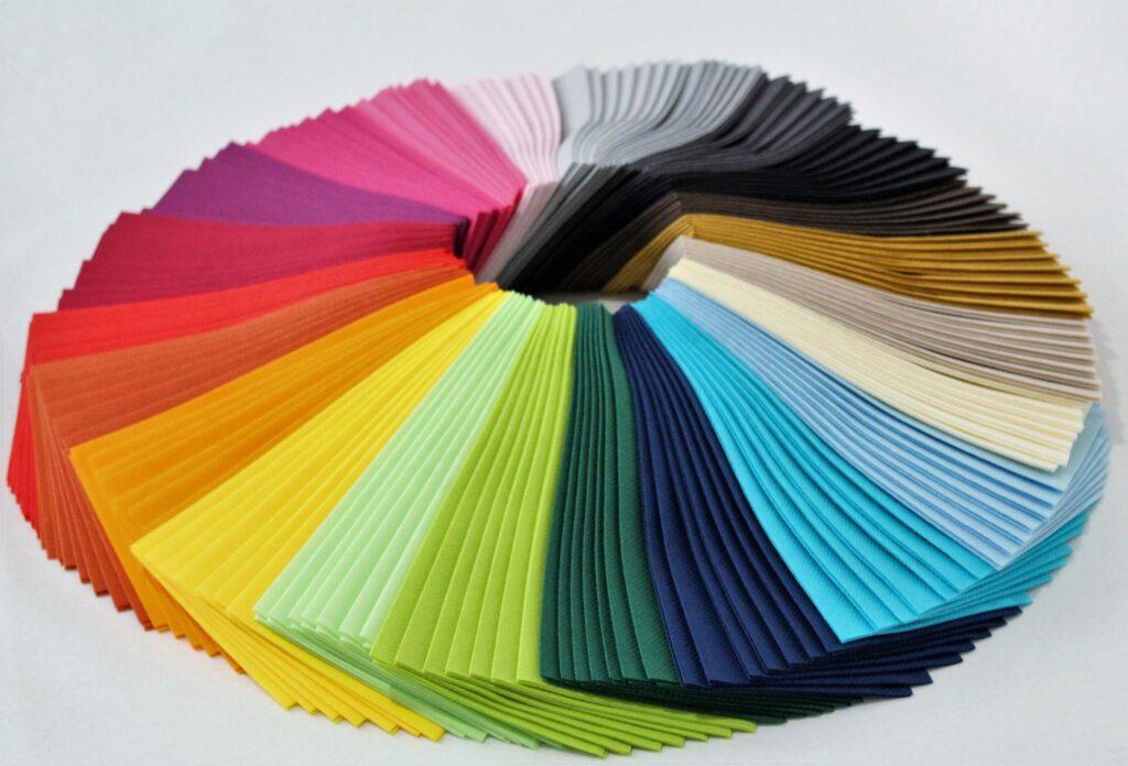 napking colour range