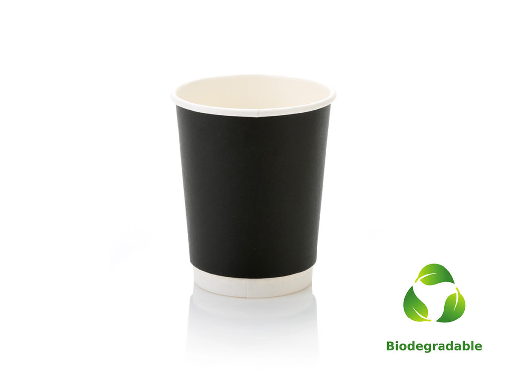 Black Cup Smooth - 250ml - Biodegradable