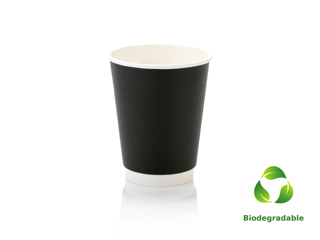 Black Cup Smooth - 350ml - Biodegradable