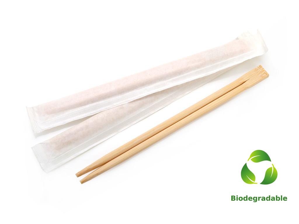 Chopsticks - Full Sleeve White - Biodegradable