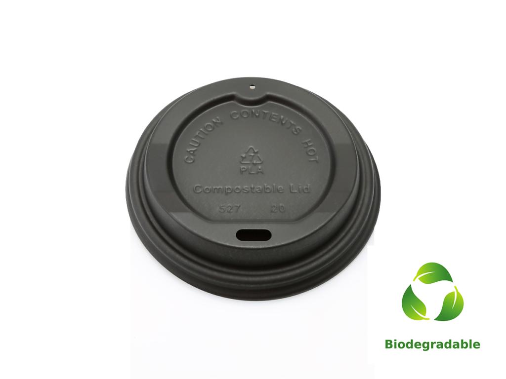 Lid Black - 250ml - Biodegradable