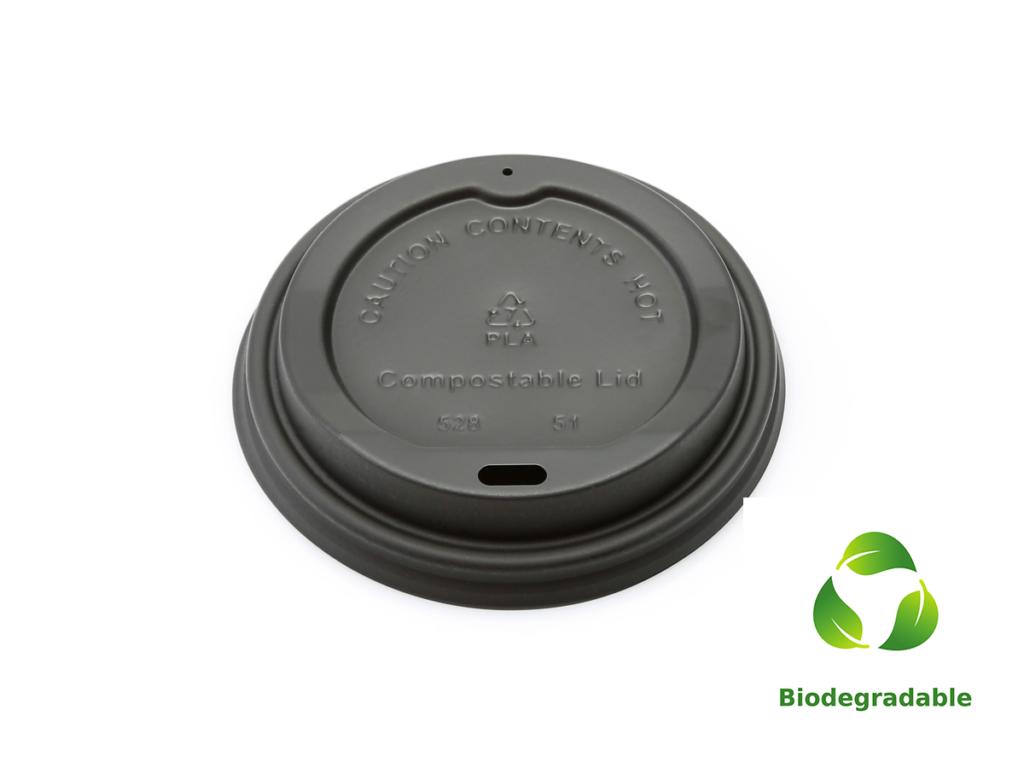 Lid Black - 350ml - Biodegradable