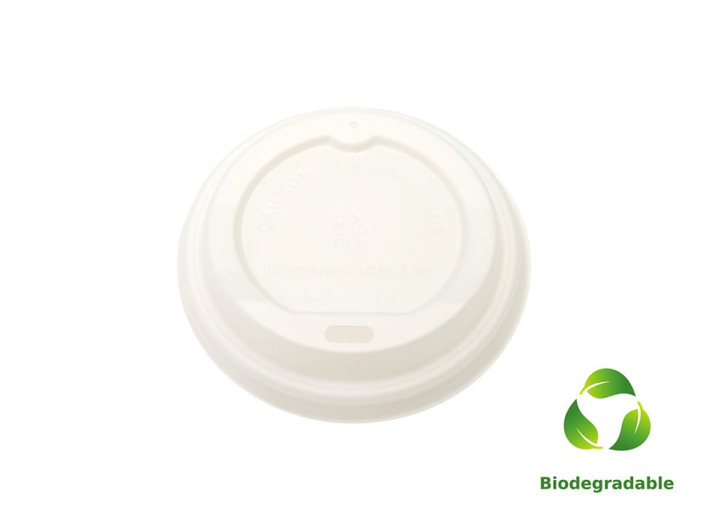Lid White - 250ml - Biodegradable
