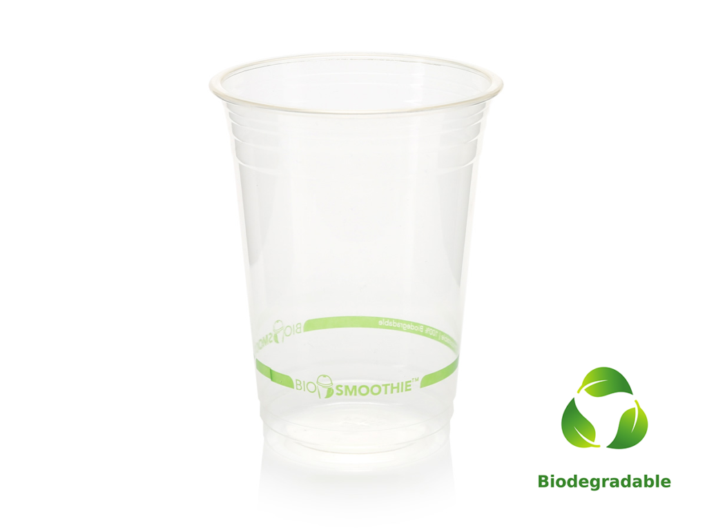 Smoothie Cup Clear - 500ml - Biodegradable