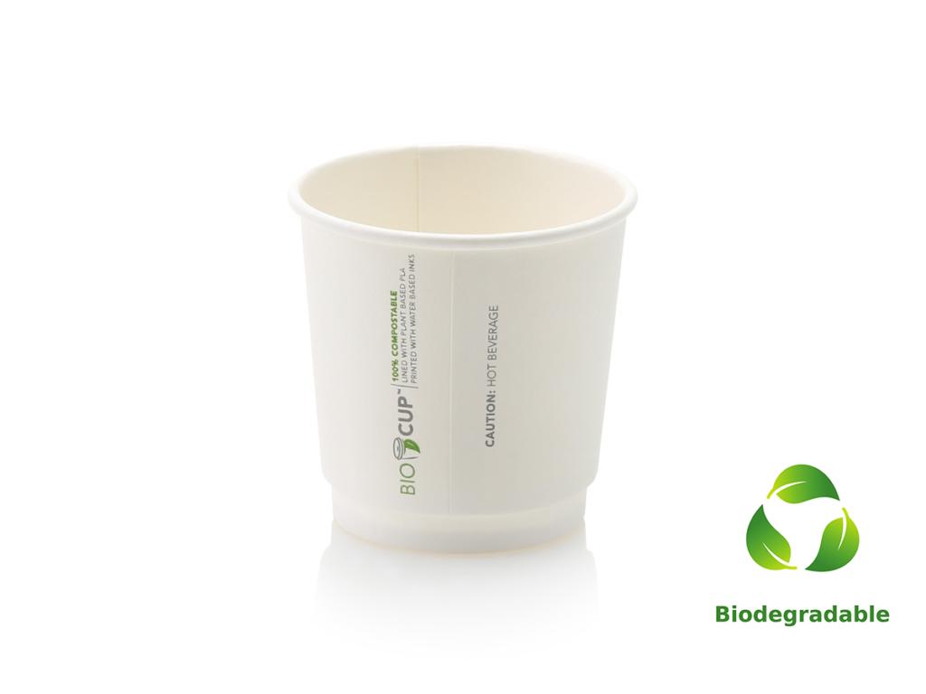 White Cup Espresso - 100ml - Biodegradable